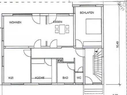 Neu renovierte 3 Zimmer- Wohnung im Erdgeschoss in ruhiger Wohnlage!