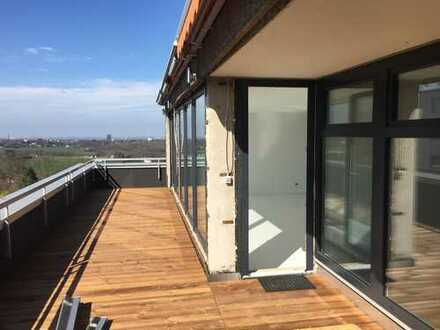 Penthouse mit Traumblick in Stiepel