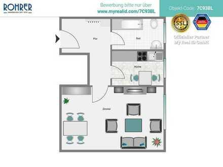 München-Giesing - 1 Zimmerapp., Küche, Bad/WC, Flur
