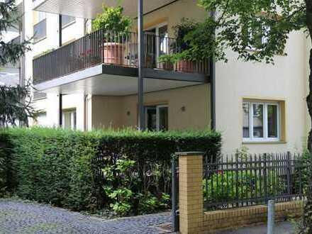 Moderne 3-Zimmer Wohnung mit Balkon und Einbauküche in ruhiger City Ost Lage