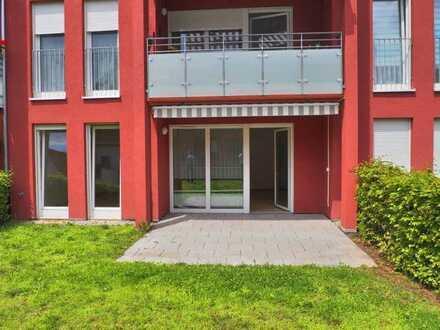 Gepflegte 2-Zimmer-Seniorenwohnung mit Terrasse und Einbauküche in Lahr