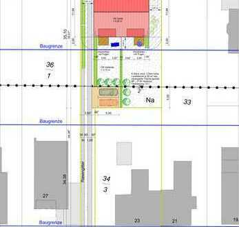 Baugrundstück von Privat incl. Baugenehmigung für ein DH