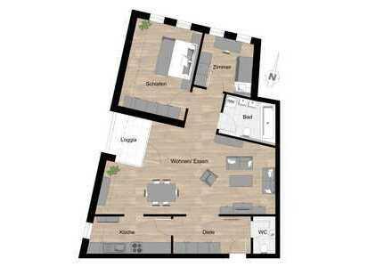 Stadtmitte Riedlingen! Vermietete 3 Zimmer-Wohnung