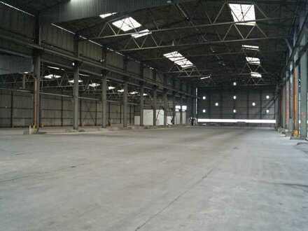 Lagerhalle (ca. 4.800 m²), PROVISIONSFREI, im Hafengebiet von  56626 Andernach zu vermieten