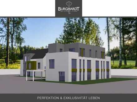 Frankfurt - Bergen-Enkheim: Bauprojekt mit Baugenehmigung für ein ZFH, ein DH und 7 Stellplätzen.