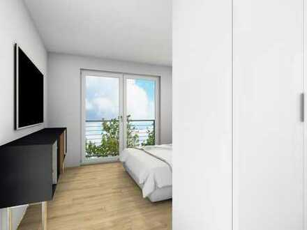 Erstbezug mit Aufzug und Balkon: Freundliche 3-Zimmer-Wohnung in Aschaffenburg-Gailbach