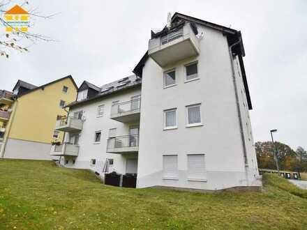 Langjährig vermietete 2-Raum-Wohnung mit Balkon und Pkw-Stellplatz in Hartenstein!