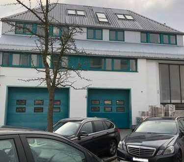 Büroetage + Lager/Produktionsflächen + Garage