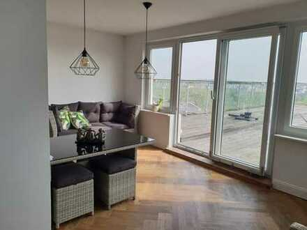 WG Zimmer in toller Penthouse-Wohnung