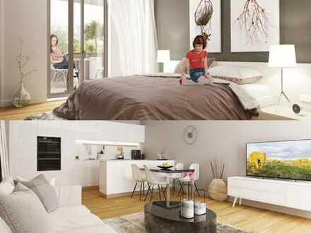 **Günstigster Neubau Mannheims!** Komfortable 3-Zimmer-Wohnung mit gemütlichem Balkon!