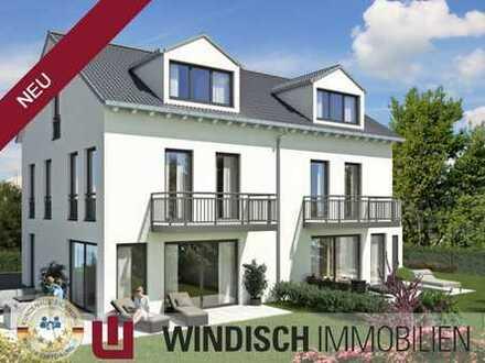 WINDISCH Immobilien - Neuwertige Doppelhaushälfte mit Südgarten in ruhiger Spielstraße von Puchheim
