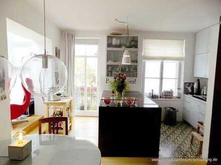 Rarität: Dachterrassen Maisonette Wohnung in Top Lage Schwabing