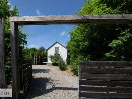 Modernes Architektenhaus kurz vor der Insel Usedom