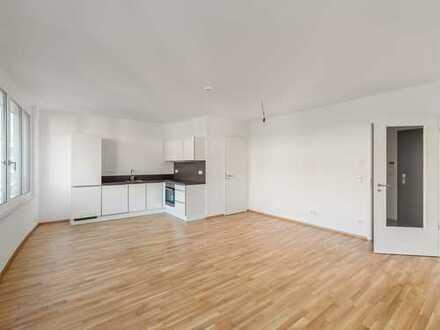 Hier entsteht Ihre Wohlfühloase mit großem und offenem Wohn-/Essbereich und Loggia