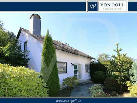 VON POLL - BAD HOMBURG: Gepflegtes Einfamilienhaus mit wunderschöner Gartenanlage