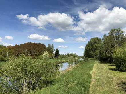 Wochenendhaus mit 267 m² Eigenland am Elbe-Weser-Seitenkanal