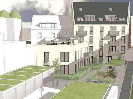 NEU! Projektierte 2 ZKB-ETW (EG) mit Terrasse und Gartenanteil im Herzen von KA-Durlach!