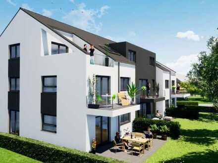 Erstbezug: Modern aufgeteilte 3-Zimmer Wohnung mit Balkon