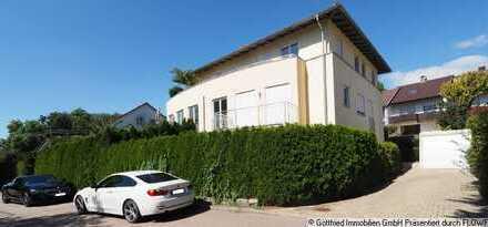 Frei ab 01.01.2020: Tolle Wohnung mit moderner Ausstattung, Terrasse und Gartenanteil in NU-Reutti