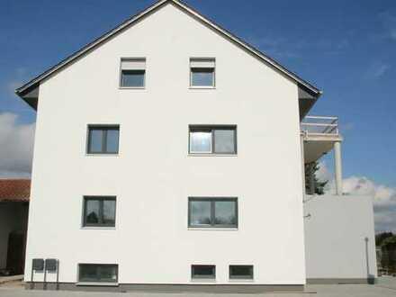Erstbezug - 4 Zimmer 96 qm helle DG Wohnung mit Dachterrasse in Neuburg OT Heinrichsheim