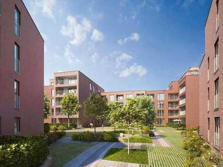 Paradiesisch schön, praktisch gelegen! Tolle 2-Zimmer-Wohnung mit Loggia und Barrierefreiheit
