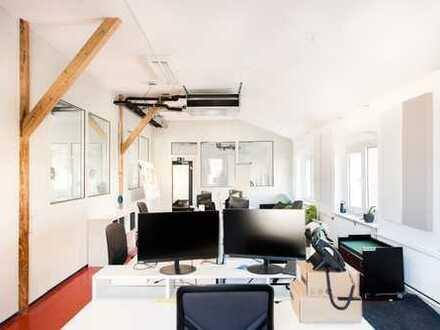 Stilvolles Büroloft in Wuppertal - Zentral und direkt an der Wupper