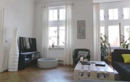 Romantische 3-Zimmer-Jugendstilwohnung in der Innenstadt