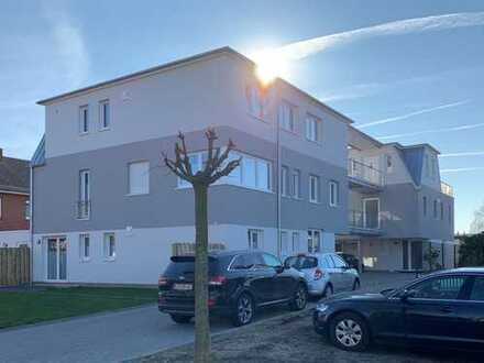 Helle 2-Zimmer-Neubauwohnung mit Einbauküche und Balkon in citynaher Lage