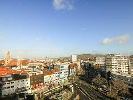 Büro/Praxis über den Dächern von Heilbronn im Wollhauszentrum