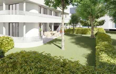 Sonnige 3-Zimmer-Gartenwohnung mit riesiger Terrasse und herrlichem Garten - Mitten in der Stadt