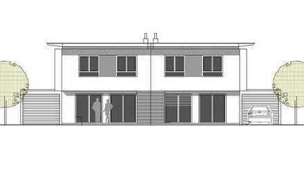 Neubau in der Aisingerwies: Schöne Doppelhaushälfte mit optimaler Südausrichtung