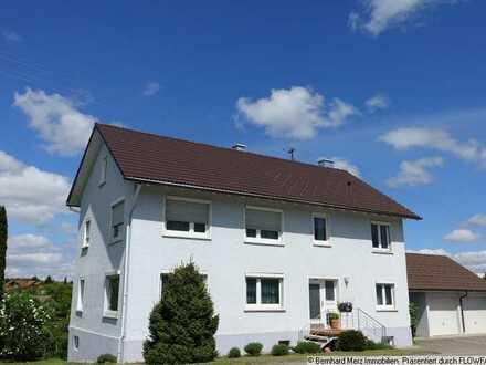 Zweifamilienhaus mit tollem Ausblick über Frittlingen