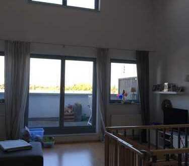 Helle 4-Zimmer-Maisonette-Whg. mit 2 Terrassen