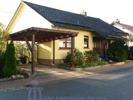 Nähe Homburg: Schönes Einfamilienhaus, Topzustand, mit unverbaubarem Fernblick