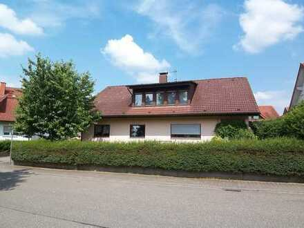 Dielheim-Baiertaler Berg: Gepflegtes Zweifamilienhaus mit Doppelgarage (# 4616)
