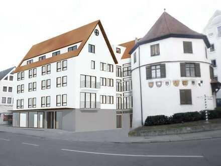 NEUE INNENSTADTWOHNUNG mit Balkon, Fußbodenheizung, Aufzug, Küche und Tiefgaragenplatz