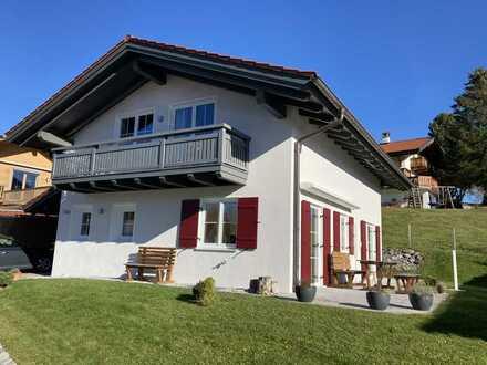 Wohnen wo andere Urlaub machen - lichtdurchflutetes Architekten EFH Bad Kohlgrub