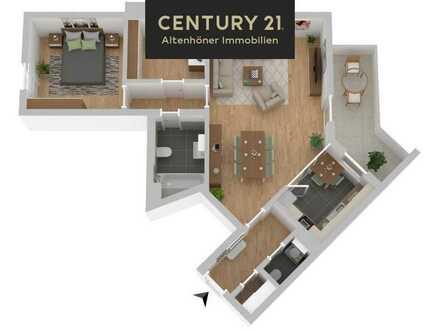 +WIEDER VERFÜGBAR+ Lingen-Darme: 3-Zimmer ETW mit großem Balkon!