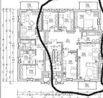 Vollständig renovierte 4-Zimmer-Hochparterre-Wohnung mit Balkon und Einbauküche in Dresden