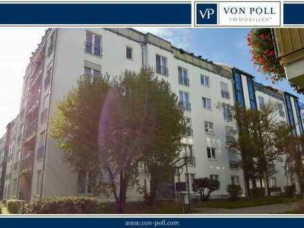 Rentable 2-Raum-Wohnung mit Balkon als Kapitalanlage oder zur späteren Eigennutzung!