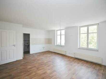 Neue 1-Raum-Wohnung in Altstadt Angermuende jobcenterfähig