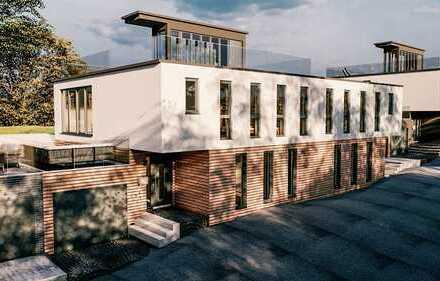 Schlüsselfertige Doppelhaushälfte (142m²) im Bauhausstil inkl. Grundstück in Werne