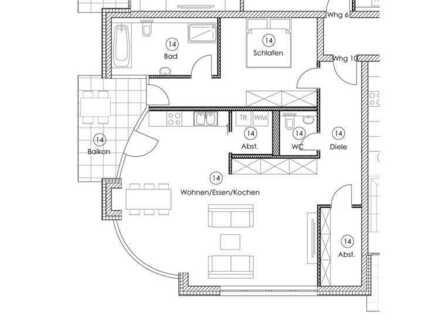 Neubau! Exklusiver Wohnraum in zentraler Lage