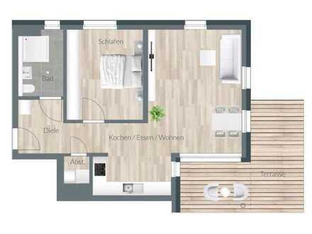 Neubauwohnung mit Terrasse in Spaichingen zu vermieten