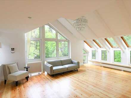 Bezugsfrei: elegantes 4 Zi. Penthouse in Wannsee Lage, 110², Dachterrasse, Wintergarten, Saniert