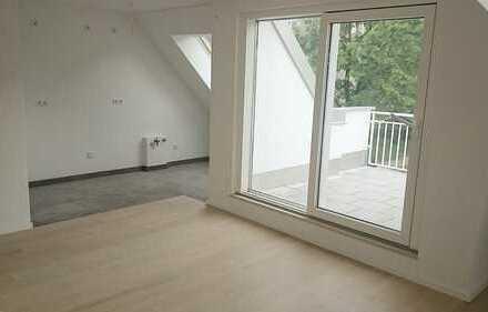 Erstbezug: * Moderne Dachgeschoss-3-Zimmer-Wohnung