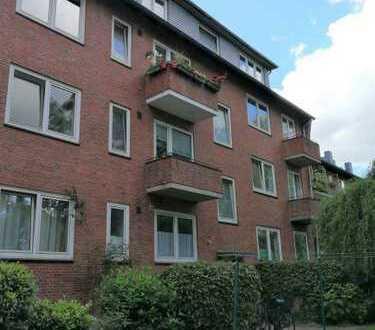 Renovierte 3-Zimmer-Wohnung in der Nähe vom Wandsbek-Markt