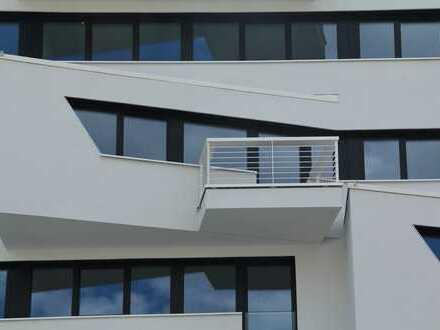 Erstbezug WAVE: exklusive 2-Zimmer Wohnung mit Balkon in direkter Wasserlage