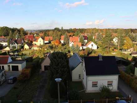 Erstbezug nach Sanierung: schöne 4-Zimmer-DG Wohnung mit Balkon in Niesky und schönem Ausblick