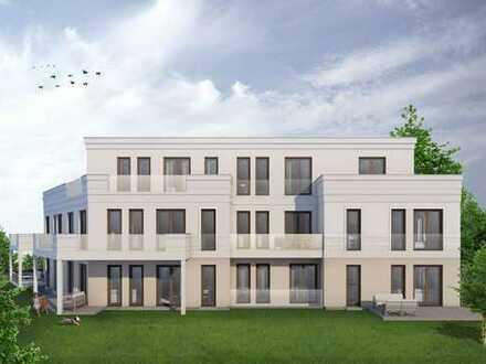 Exklusive Maisonettewohnung mit Terrasse und großem Garten. Neubau! WHG Nr. 2